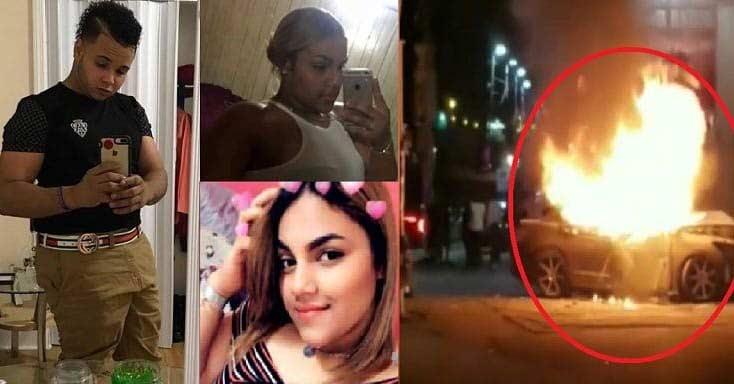 Filadelfia: Tres dominicanos mueren calcinados en accidente