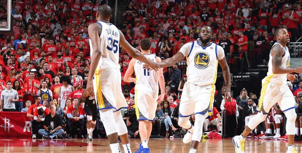 Golden State pega primero a Houston