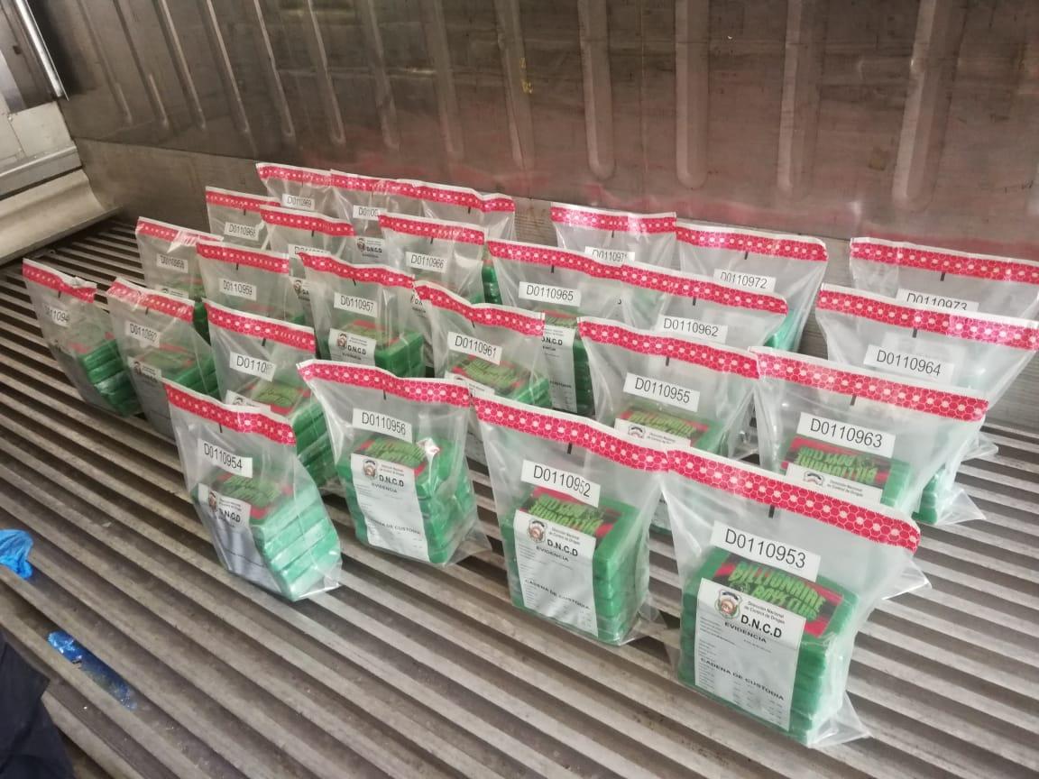 Incautan 125 paquetes de cocaína puerto Manzanillo