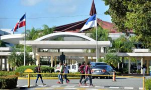 UASD suspende docencia por efectos onda tropical