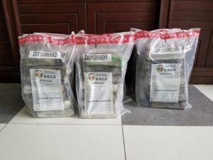 Ocupan 36 kilos de cocaína aeropuertos Punta Cana y Las Américas