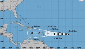 Isaac se convierte en huracán categoría 1