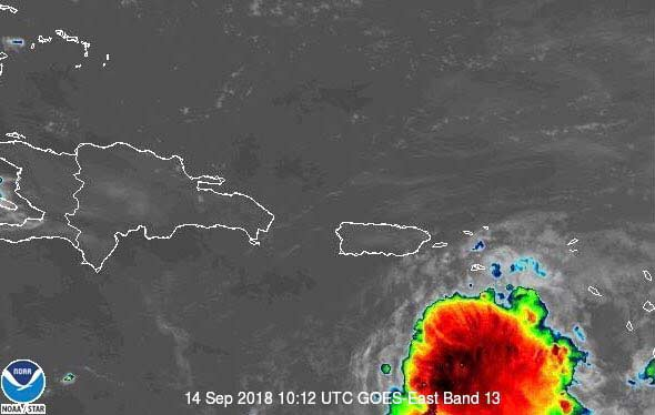 Isaac se degrada a depresión tropical