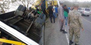 Permanecen 4 personas internas por accidente de ayer en Sajoma