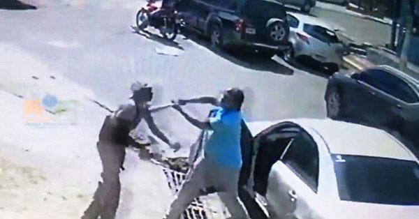 La PN aún no apresa chofer agredió haitiano con un bate