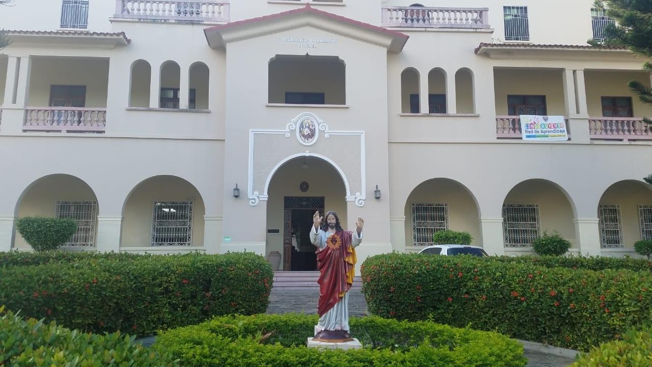Ladrones roban en colegio Sagrado Corazón de Jesús